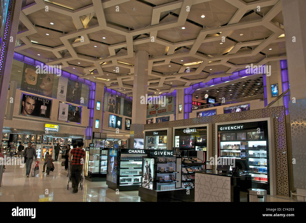 duty free shop abu dhabi international airport stock photo 51105827 alamy. Black Bedroom Furniture Sets. Home Design Ideas