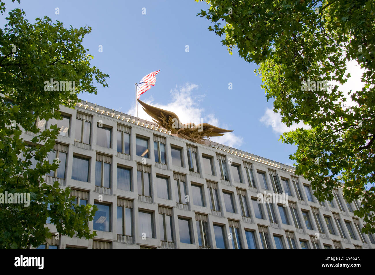 US Embassy in London - Stock Image