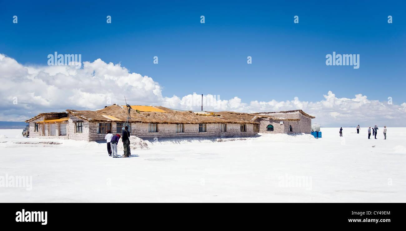 Hotel De Sal Playa Blanca Salar De Uyuni Potosi Bolivia