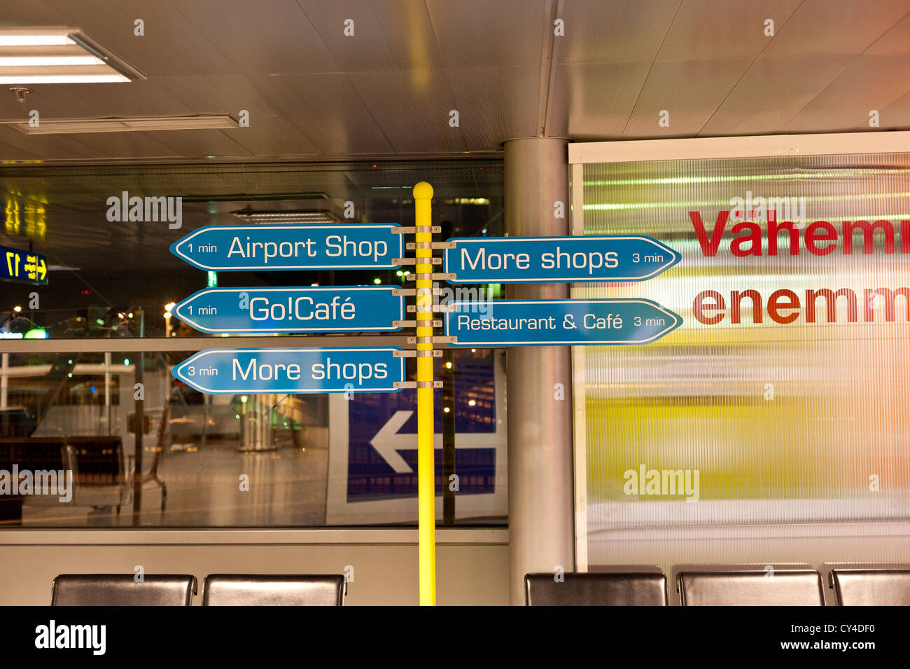 Airport Direction Signs Stock Photos Amp Airport Direction
