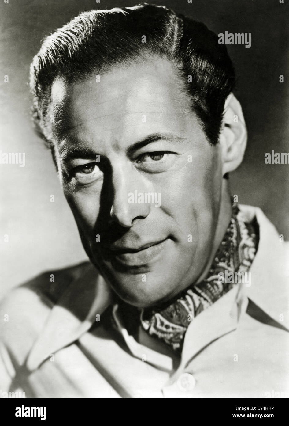 REX HARRISON, SIR (PORTRAIT) RXHS 002 MOVIESTORE COLLECTION LTD - Stock Image