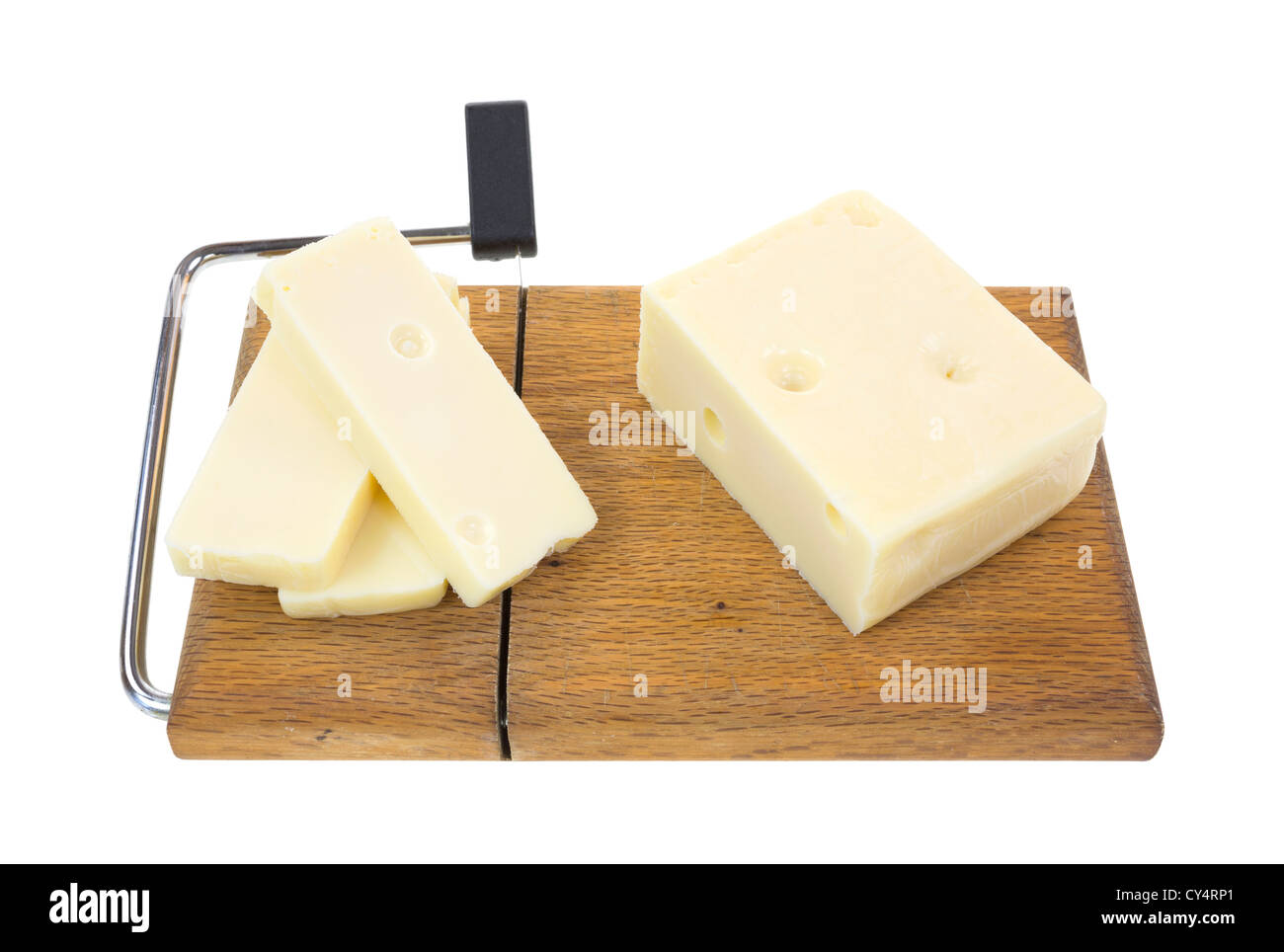 Cutting Cheese With Wire Stock Photos & Cutting Cheese With Wire ...