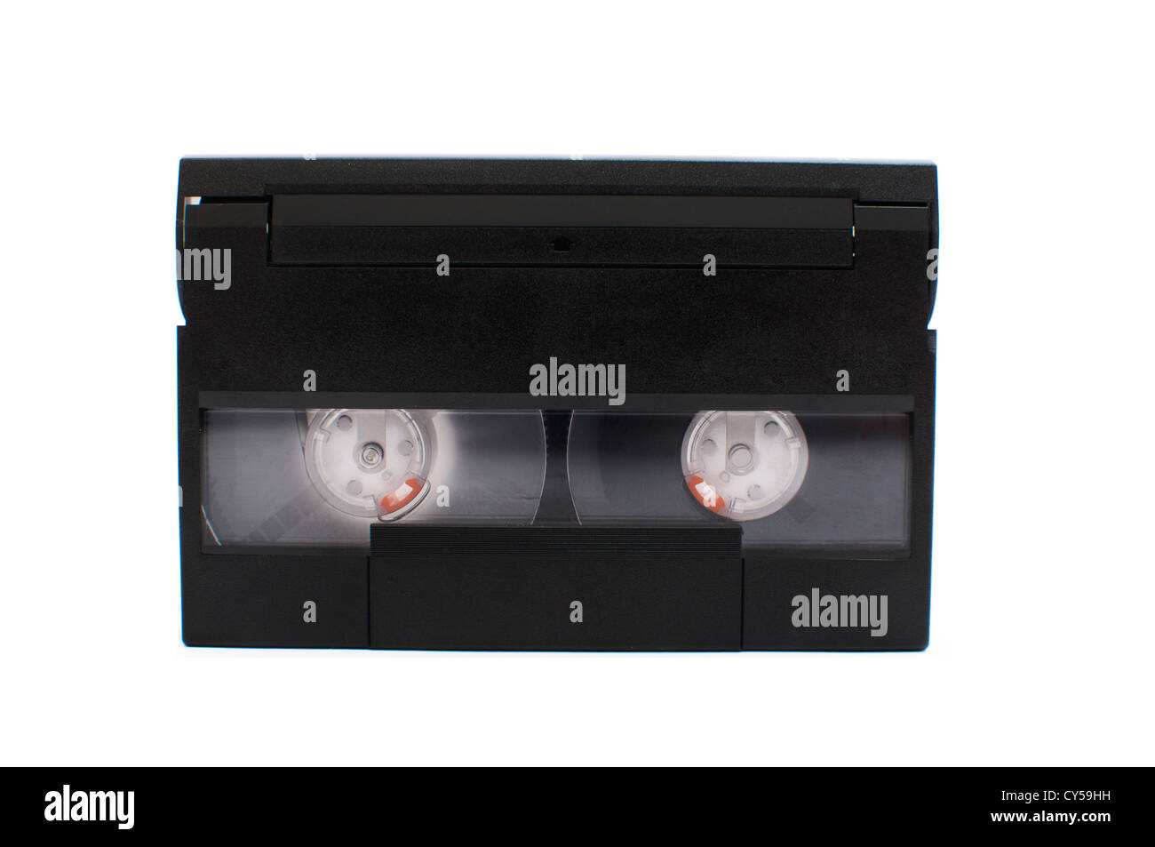 8mm Video Cassette isolated on white background - Stock Image