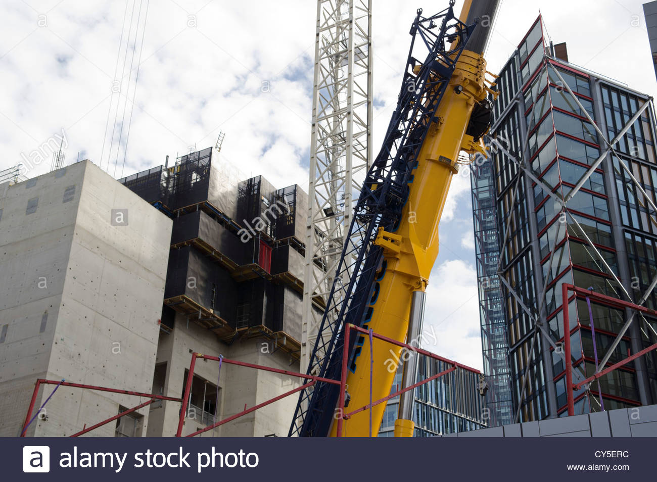 Construction in Southwark, London - Stock Image