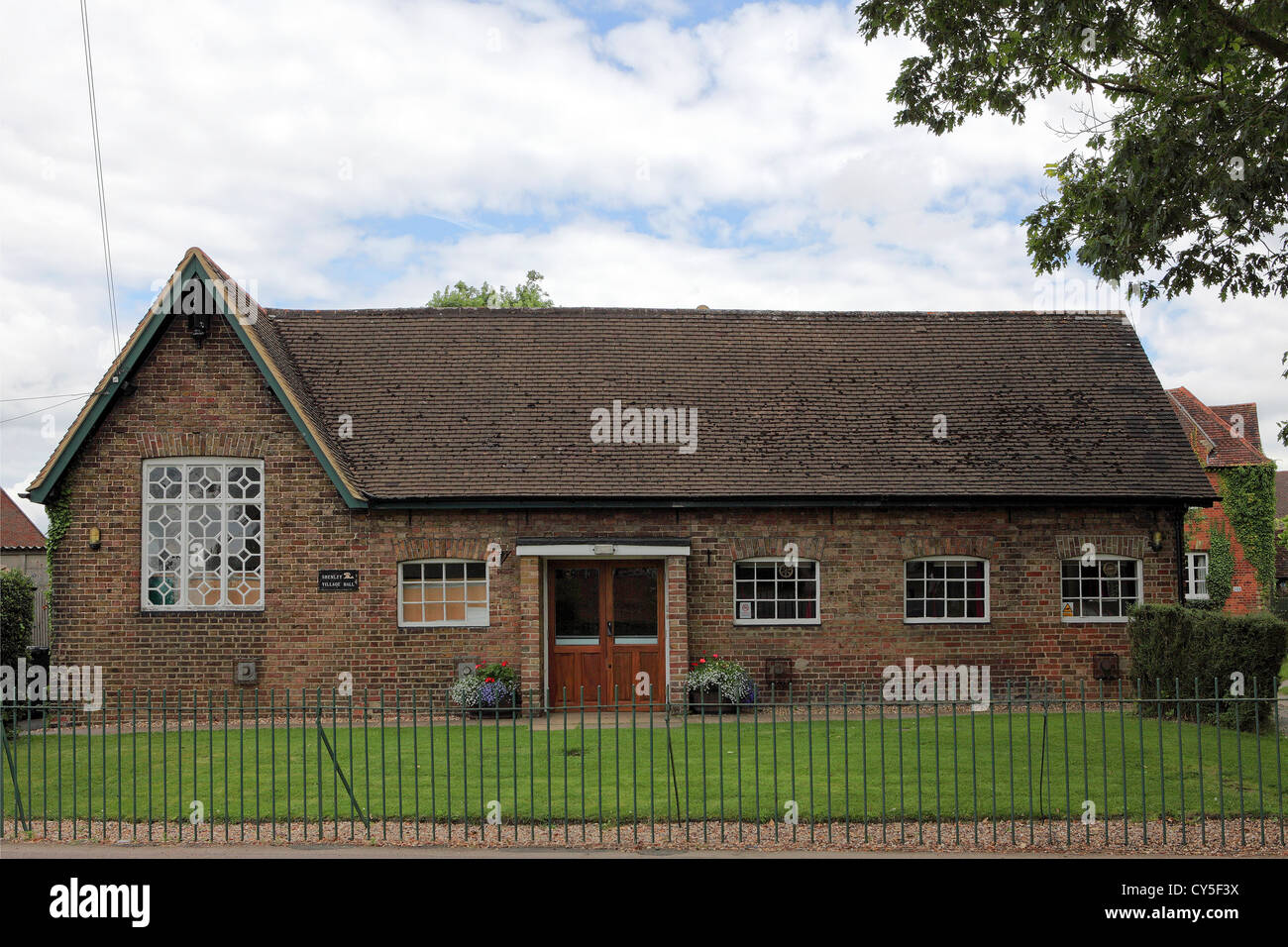 The Village Hall in Shenley,Hertfordshire. - Stock Image