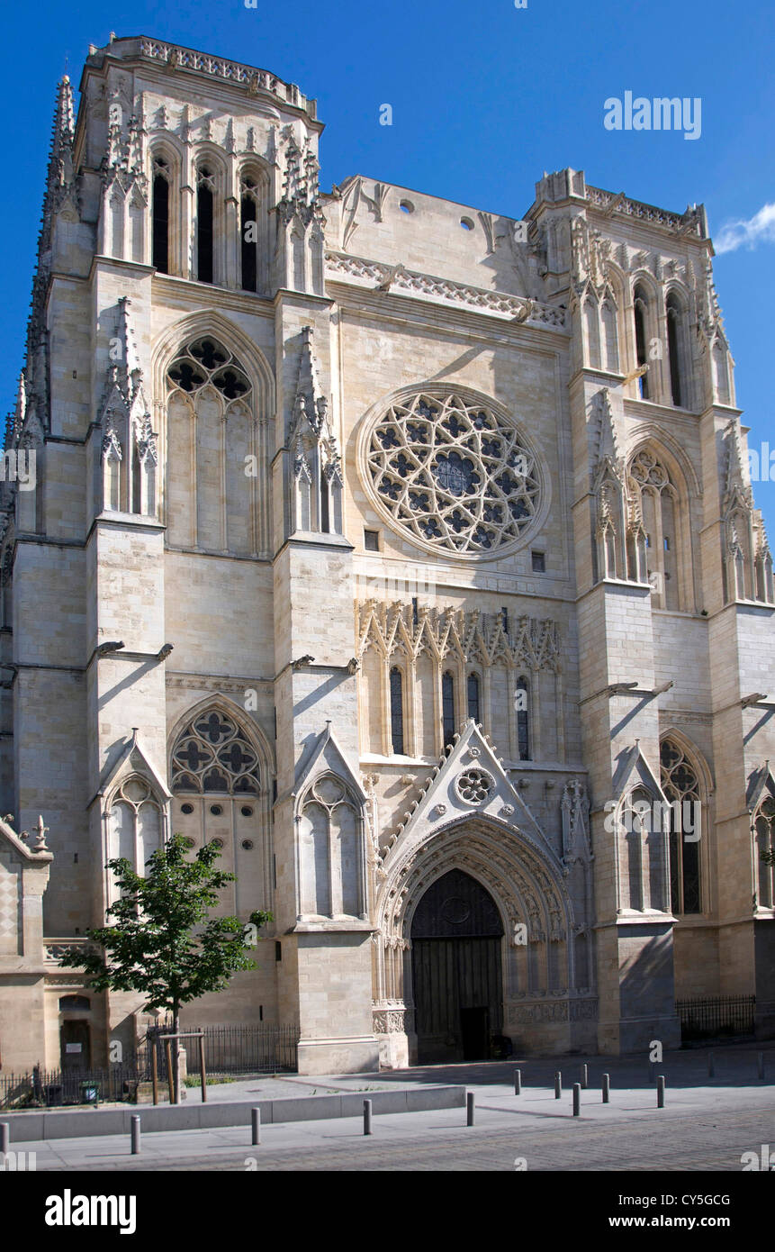 Cathedrale St. Andre, Bordeaux, Gironde, France, Europe ...