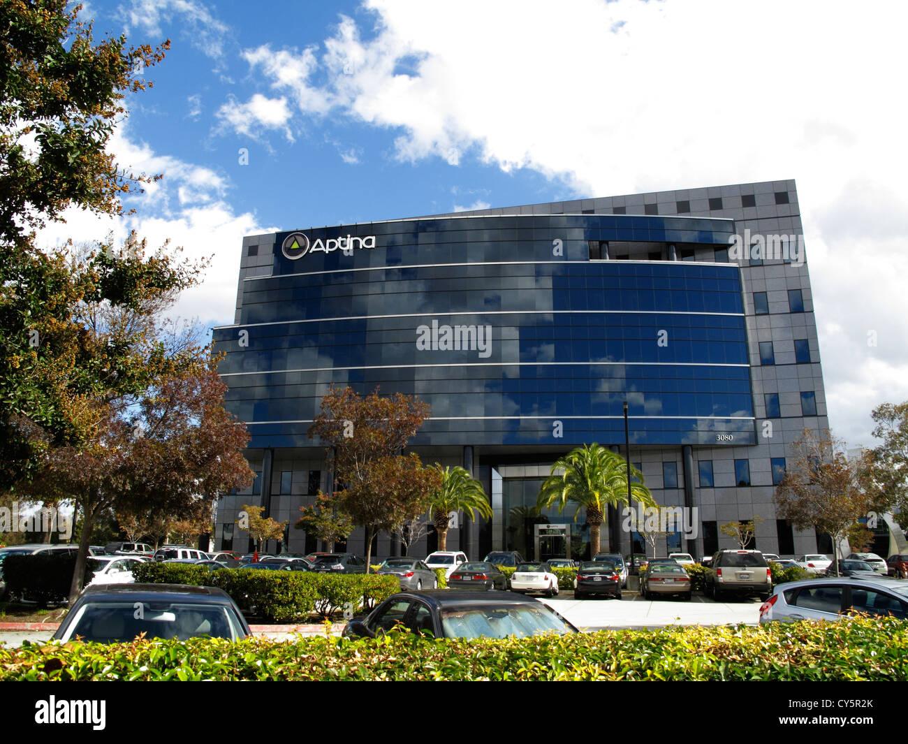 Aptina Imaging Corporation Executive Office in San Jose, California - Stock Image