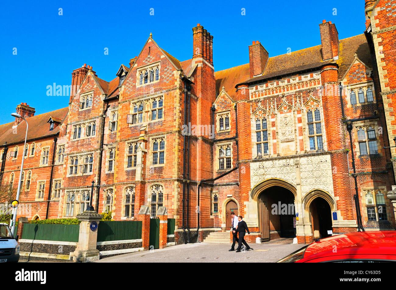 Brighton College, Kemptown, Brighton, East Sussex, UK - Stock Image