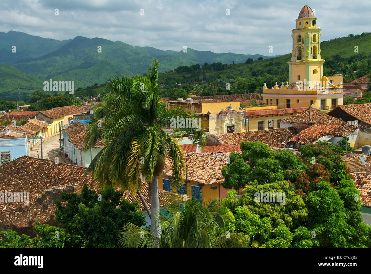 View over Trinidad - Stock Image