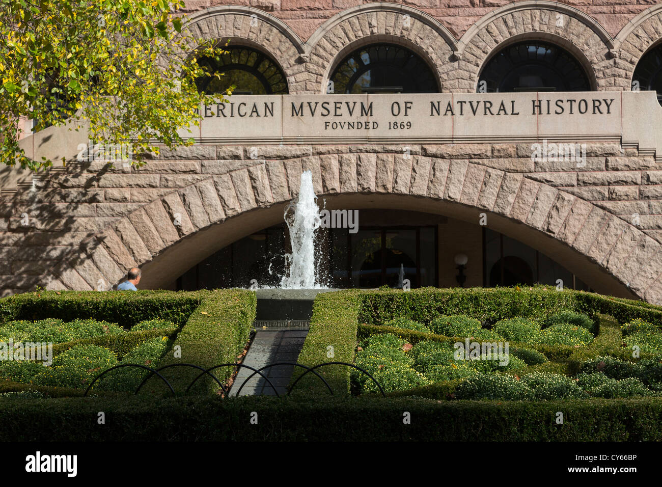 The American Museum of Natural History, 79th street entrance,  Upper West Side, Manhattan, New York City, USA - Stock Image