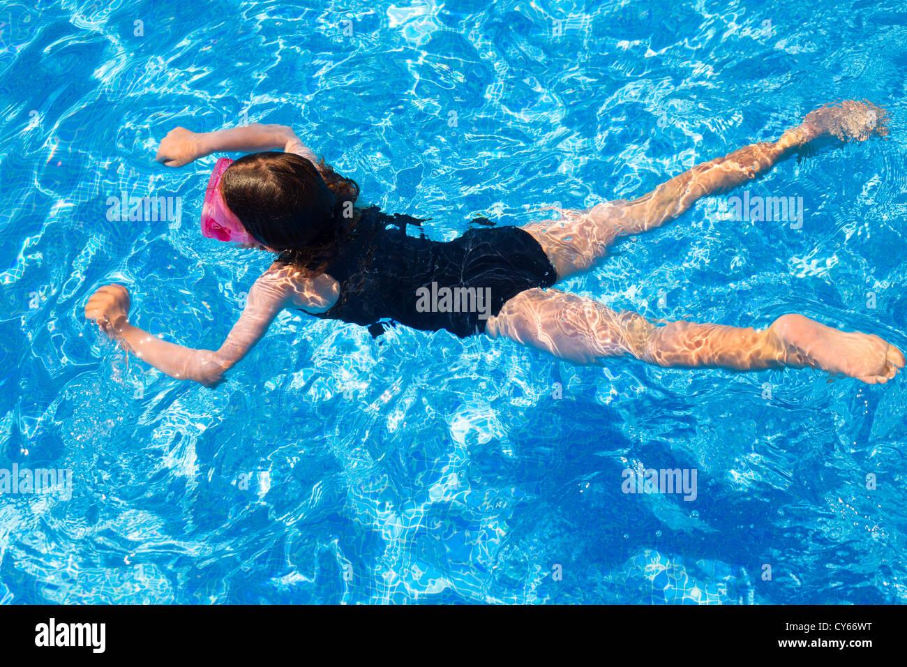 Girl Bikini Pool Vacation Travel Wet Young Resort Stock Photos Girl Bikini Pool Vacation