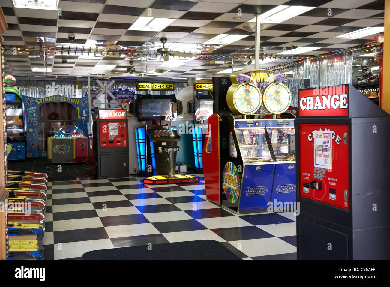 amusement video arcade florida usa - Stock Image