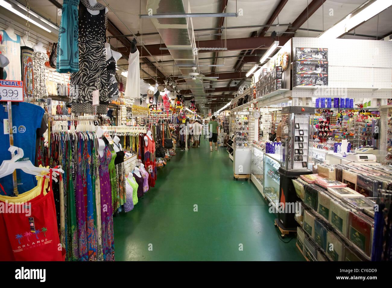 main gate flea market prices kissimmee florida usa - Stock Image