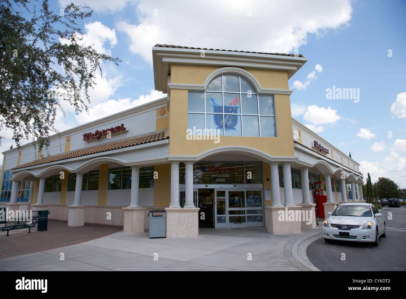 walgreens drug store orlando florida usa - Stock Image