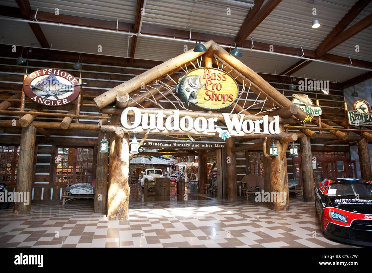 Bon Bass Pro Shops Outdoor World Orlando Florida Usa   Stock Image