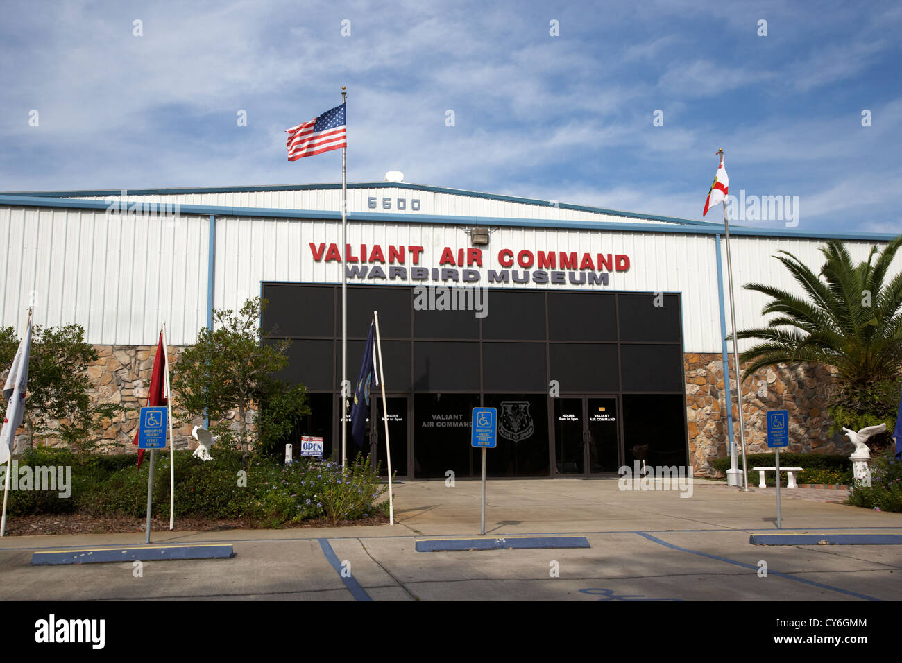 valiant air command warbird museum florida usa - Stock Image