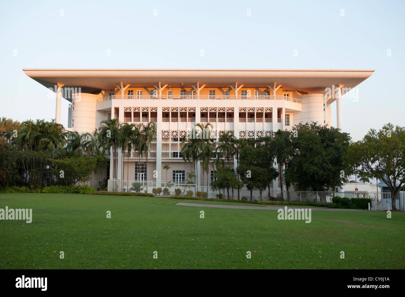 NT Parliament House in Darwin, Northern Territory, Australia. - Stock Image
