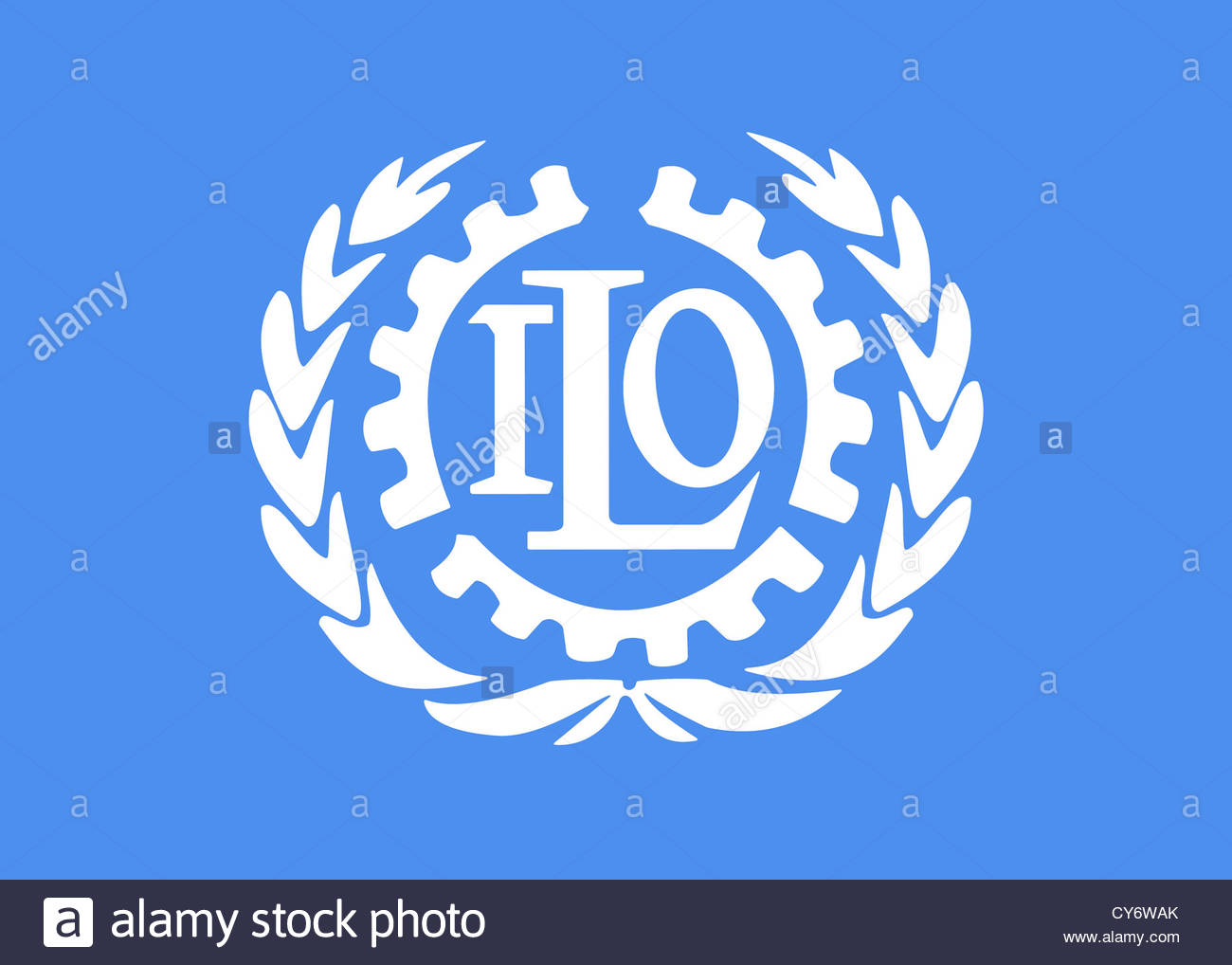 Ilo International Labour Organization Logo Stock Photos Ilo