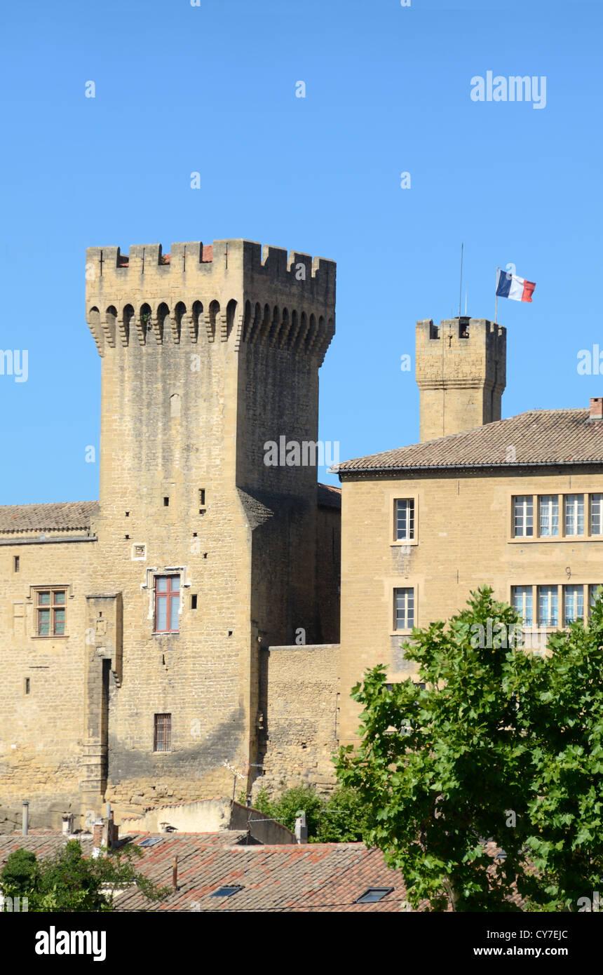 Château de l'Emperi and Military Museum Salon-de-Provence Provence France - Stock Image
