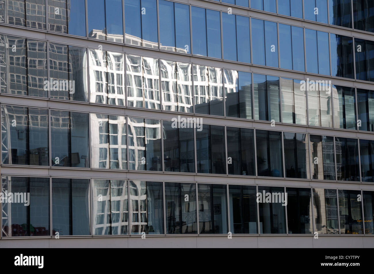 City Reflections - Stock Image