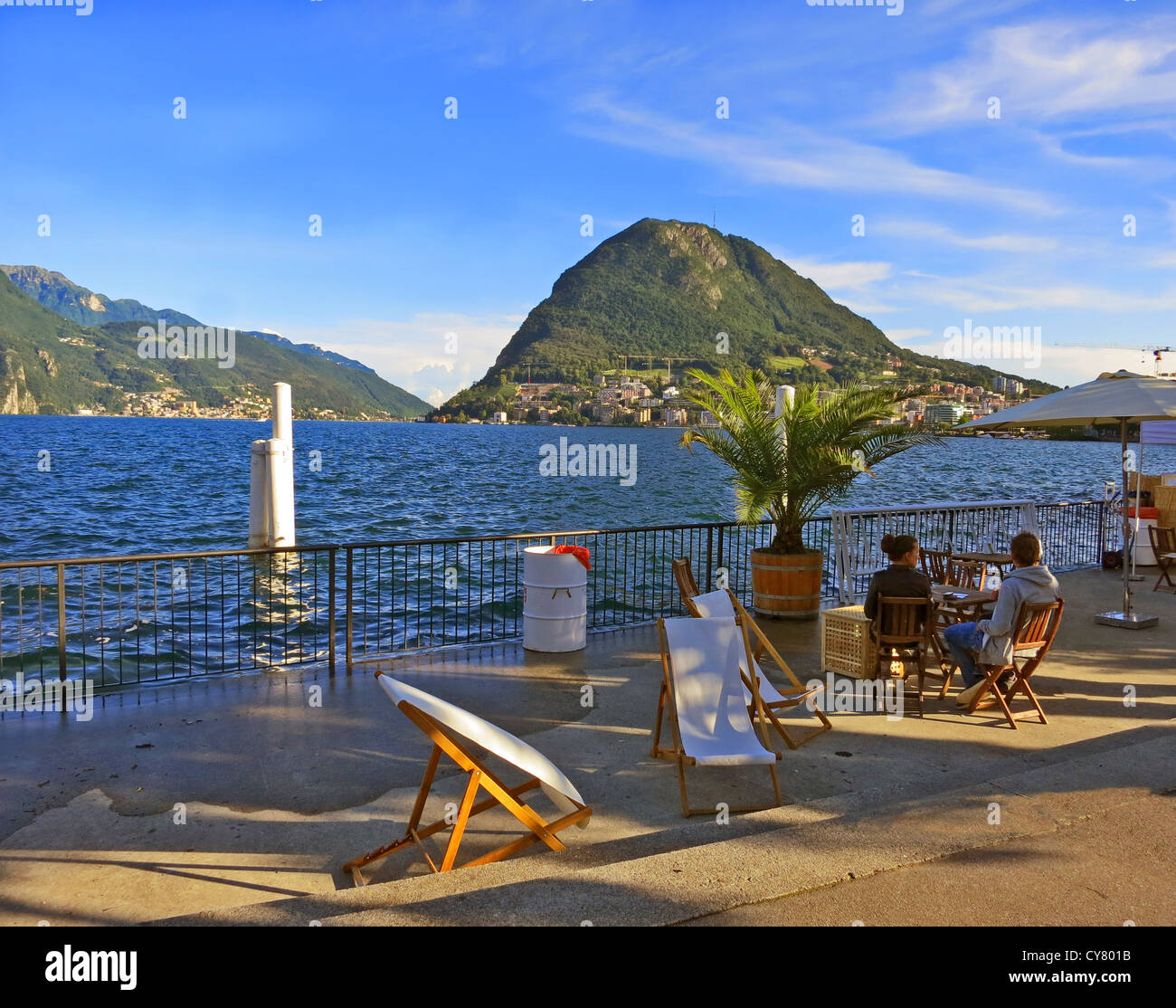 lake lugano italian stock photos lake lugano italian stock images alamy. Black Bedroom Furniture Sets. Home Design Ideas