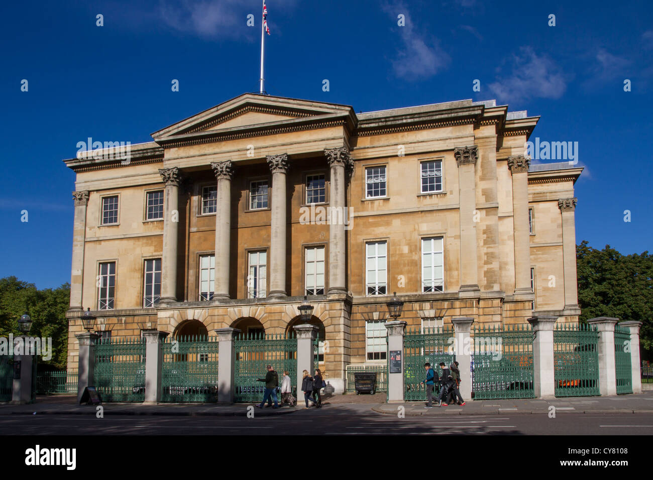 England London Hyde Park corner Apsley House - Stock Image