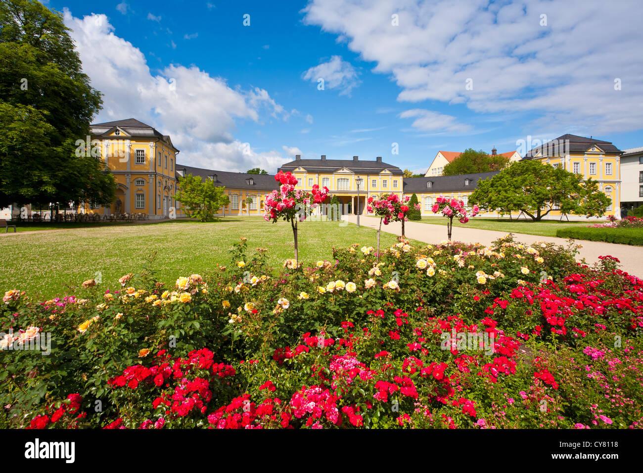 ORANGERY IN GERA, THURINGIA, GERMANY - Stock Image