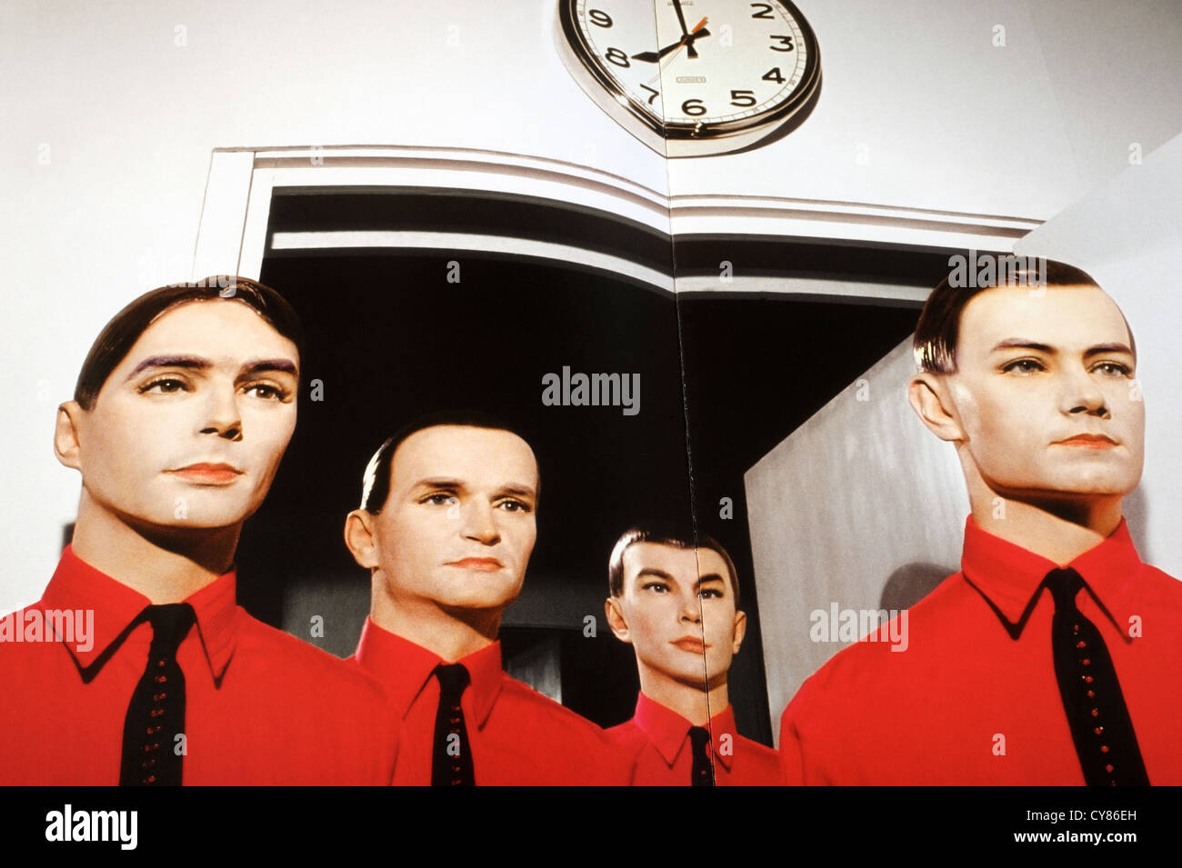 Kraftwerk The Man Machine booklet artwork Stock Photo