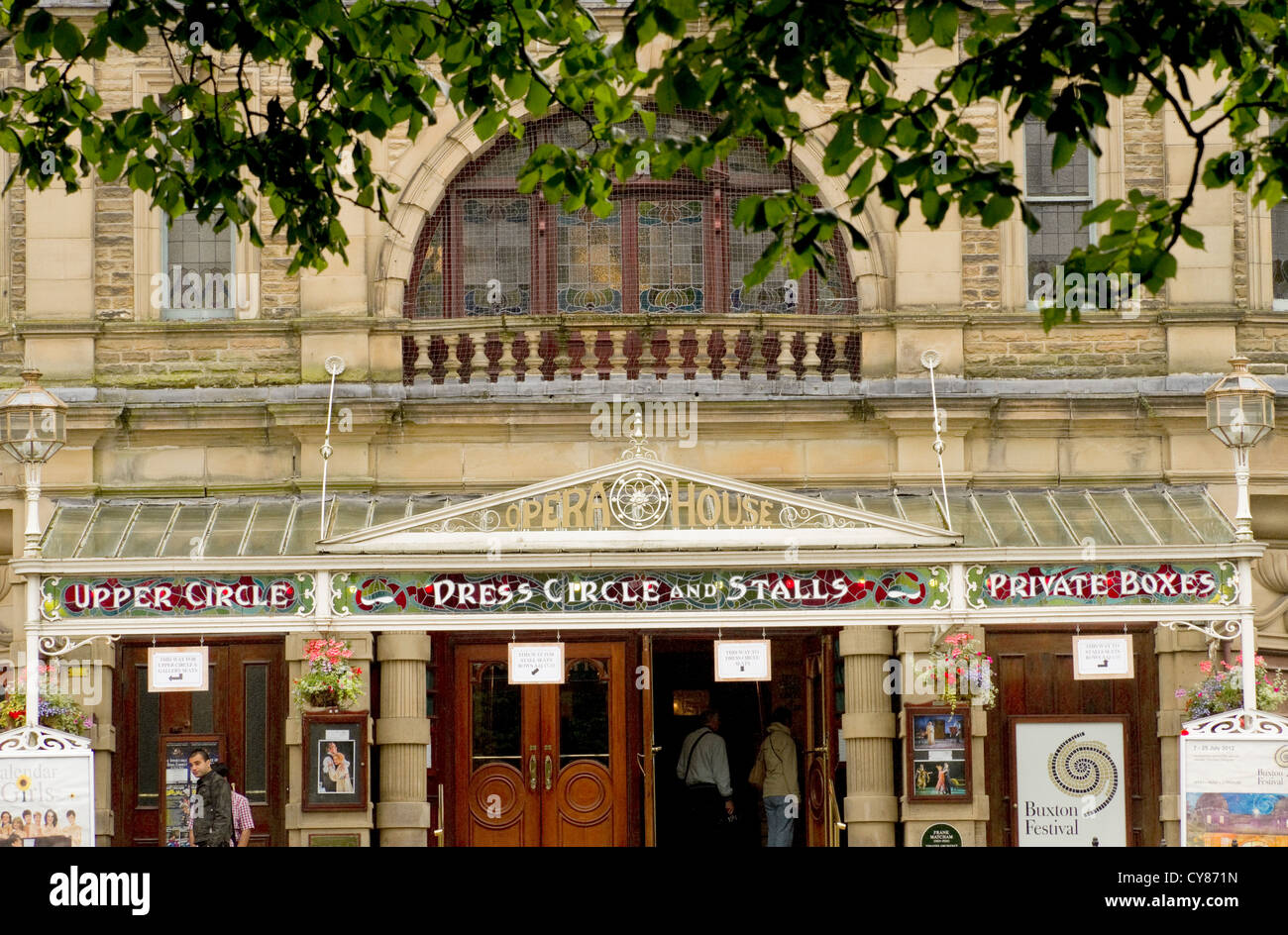 The Opera House was designed by the Edwardian theatre architect Frank Matcham. Opened in 1903, it was restored in - Stock Image