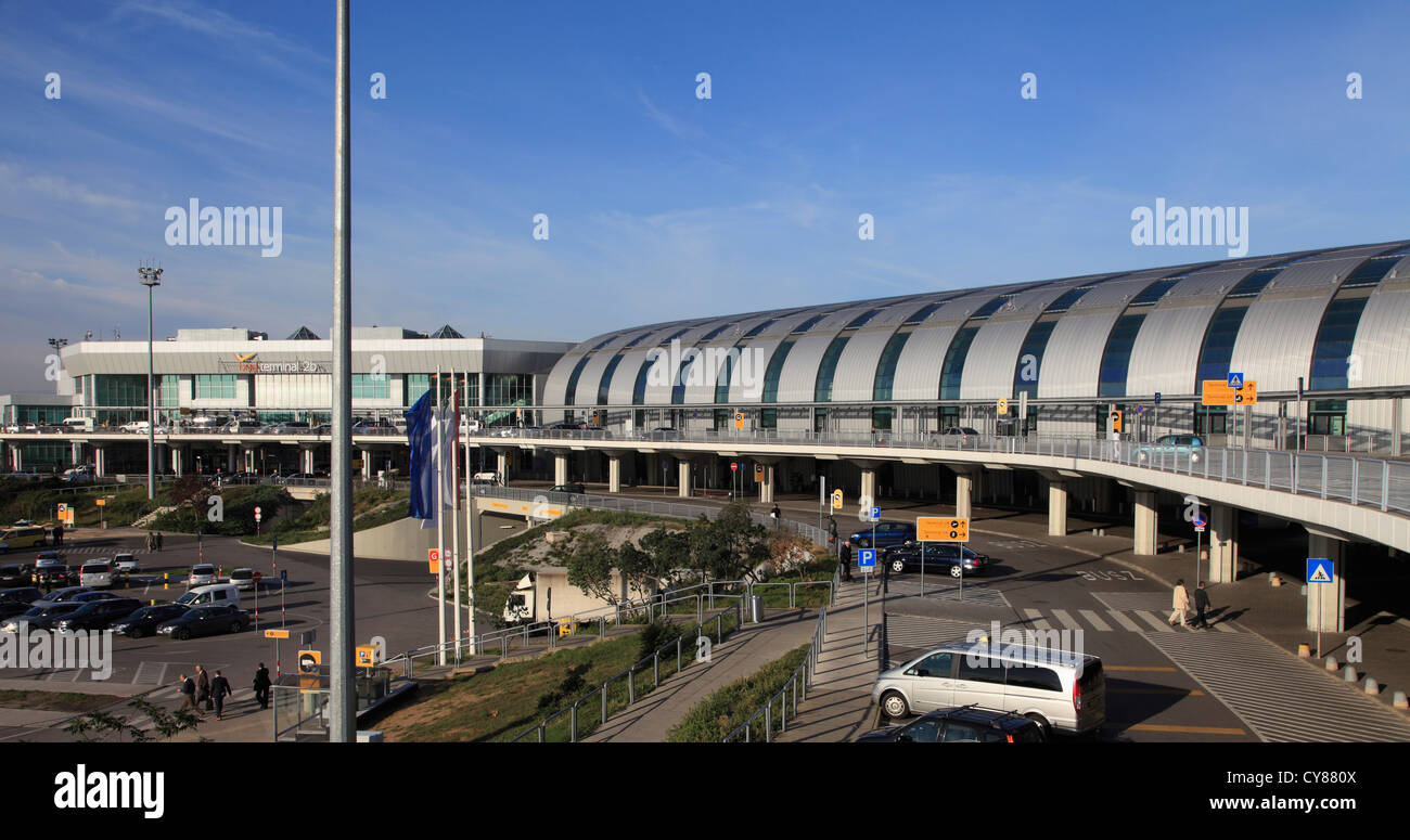 Hungary, Budapest, Ferenc Liszt International Airport, Stock Photo