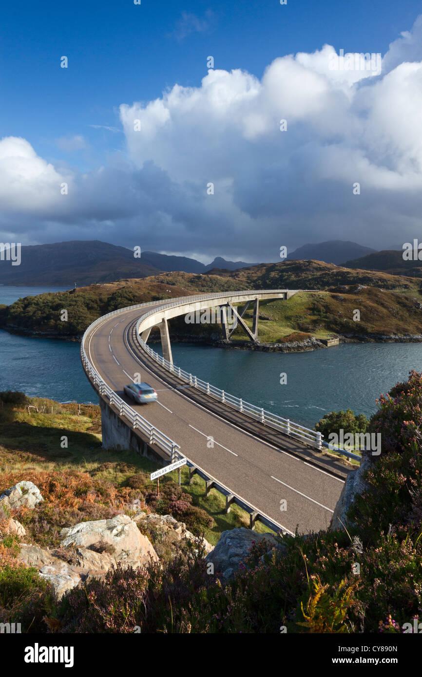 Kylesku Bridge in Sutherland - Stock Image