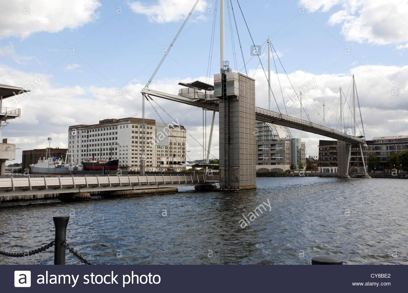Royal Victoria Dock Bridge Stock Photos Royal Victoria