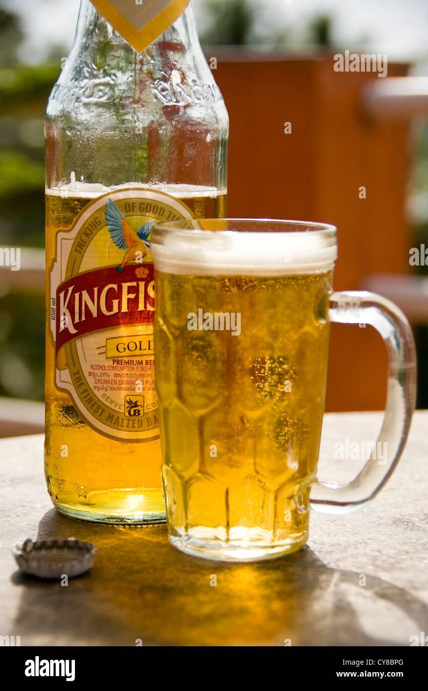 Kingfisher Beer Stock Photos Kingfisher Beer Stock Images Alamy