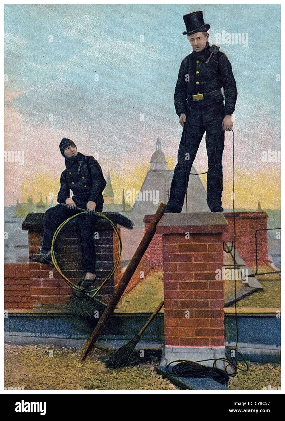 Victorian Chimney Sweep Stock Photos Amp Victorian Chimney