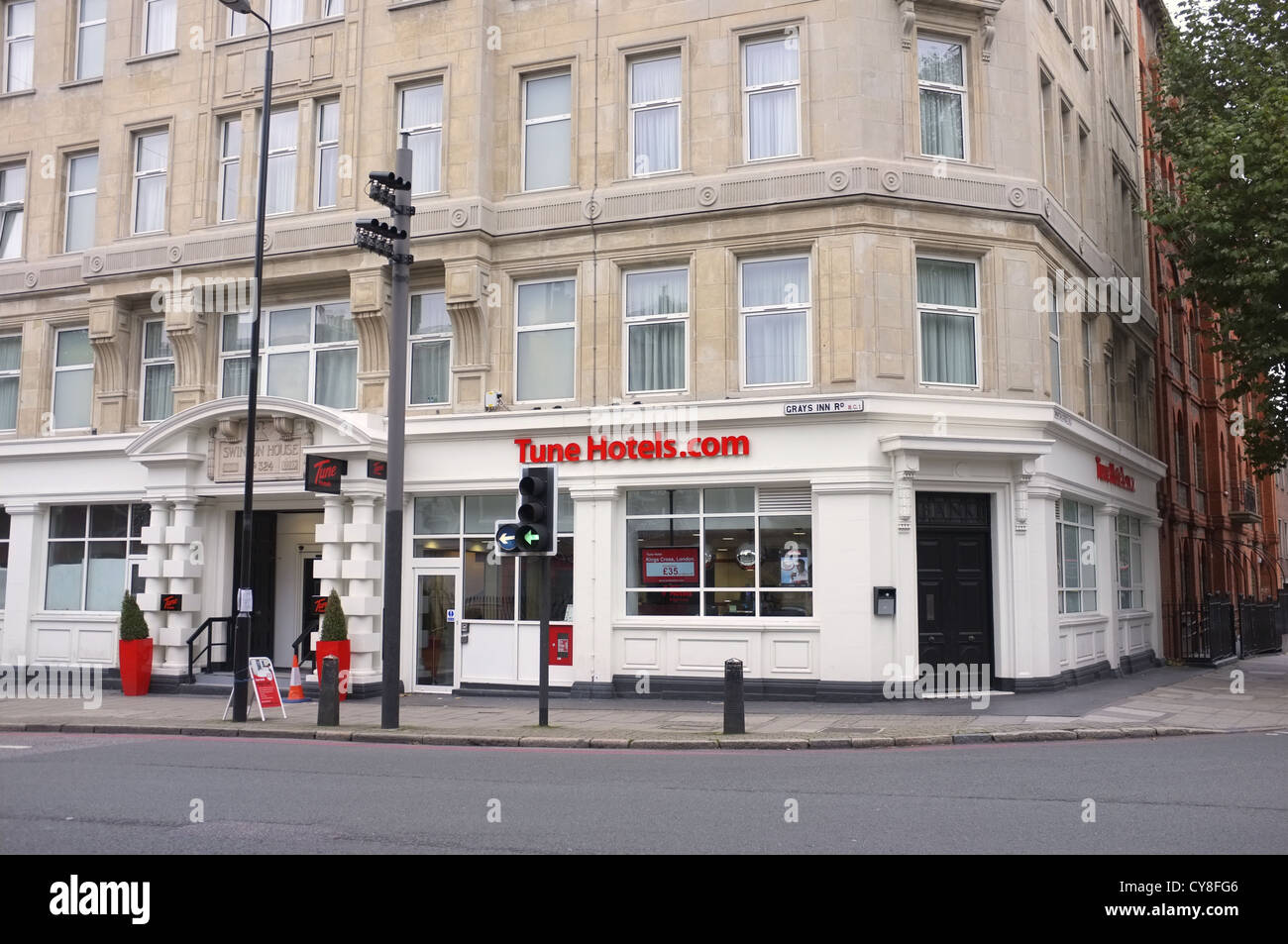 Tune Hotels.com in London - Stock Image