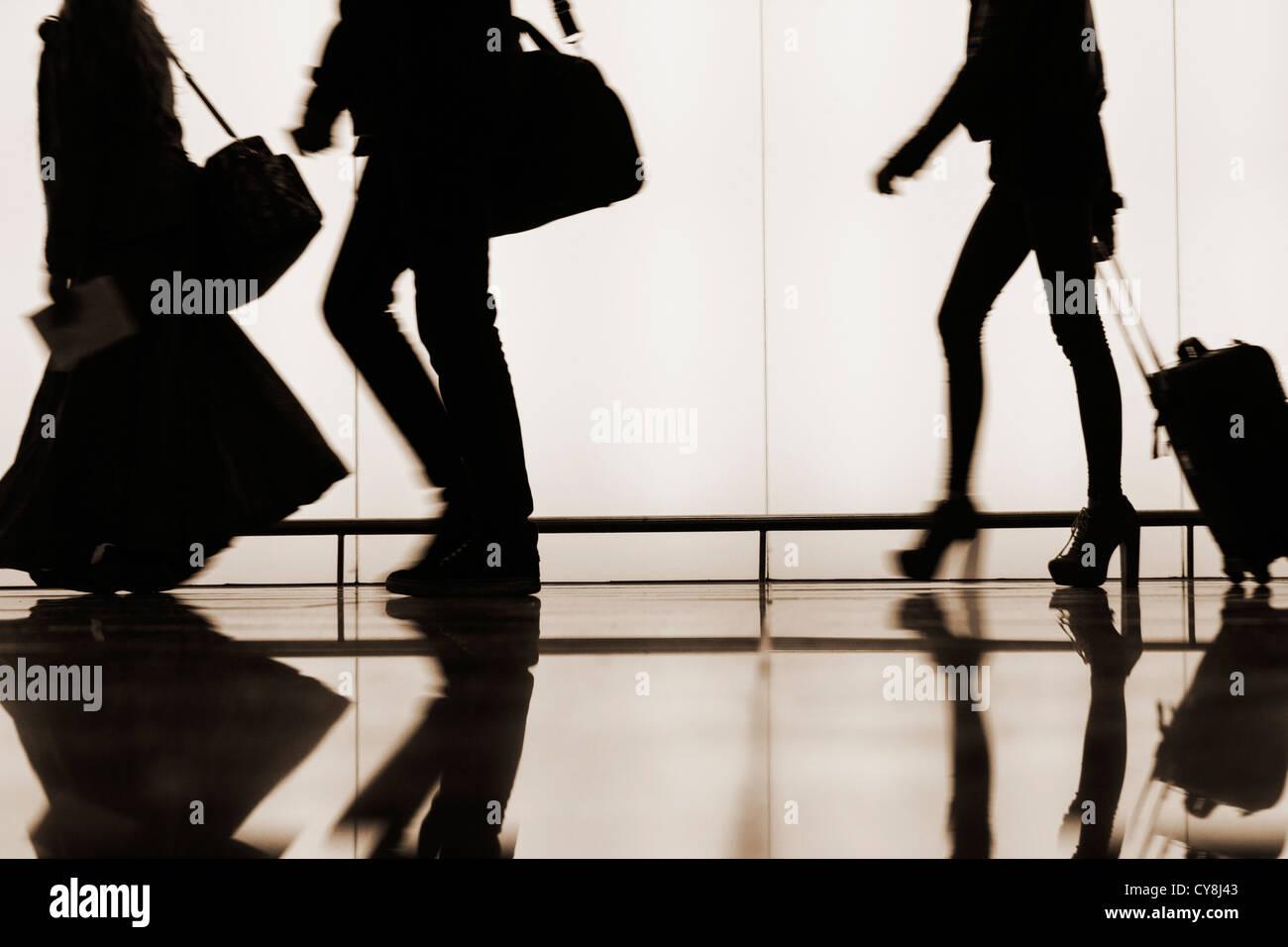 El Prat airport. Barcelona, Spain - Stock Image