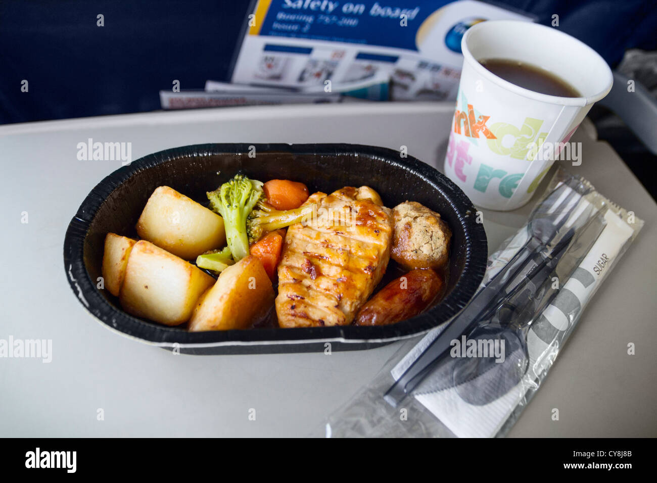 Thomson Inflight Meals >> Flight Meal Stock Photos Flight Meal Stock Images Alamy