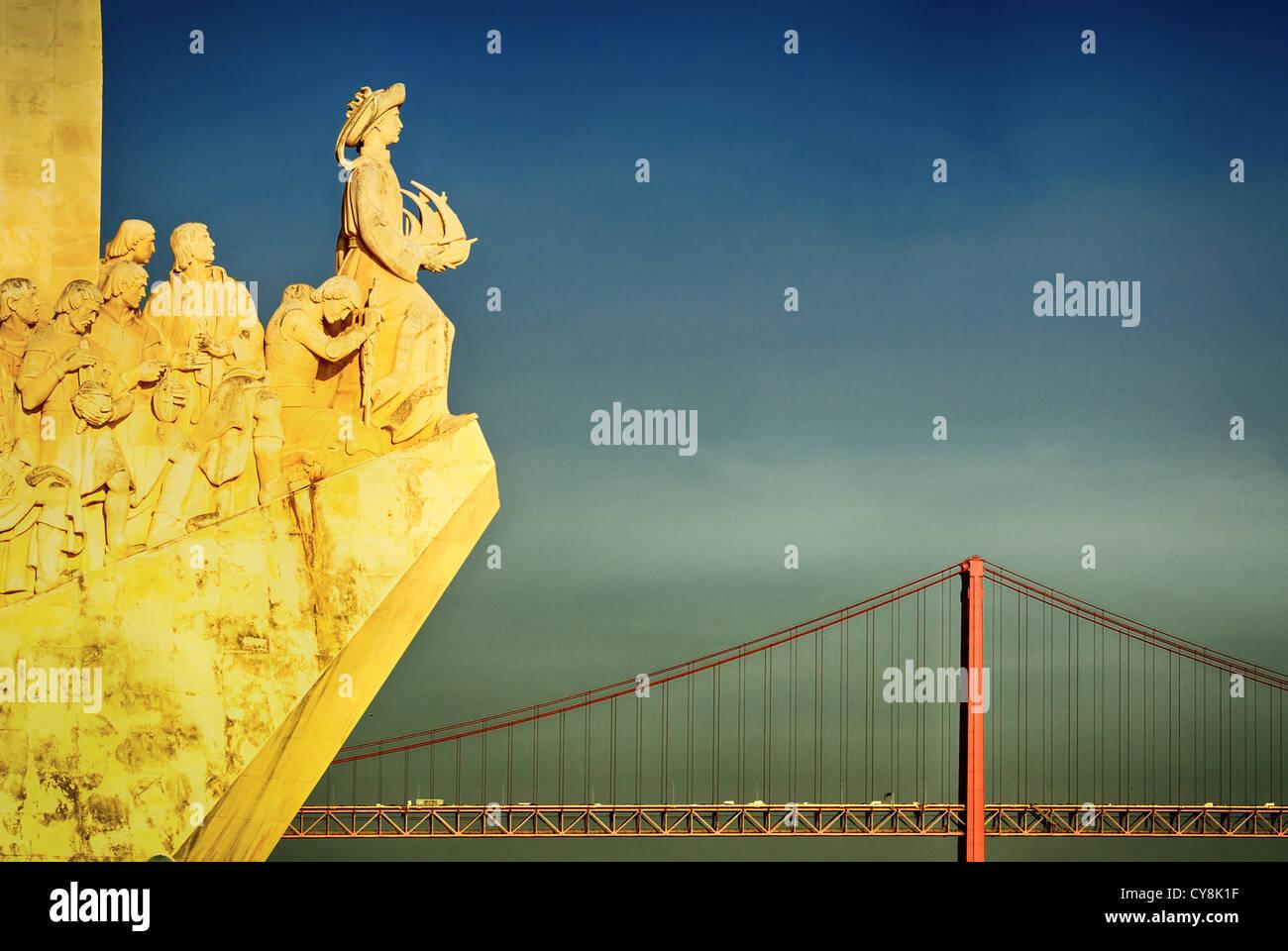 The Padrao dos Descobrimentos - Stock Image