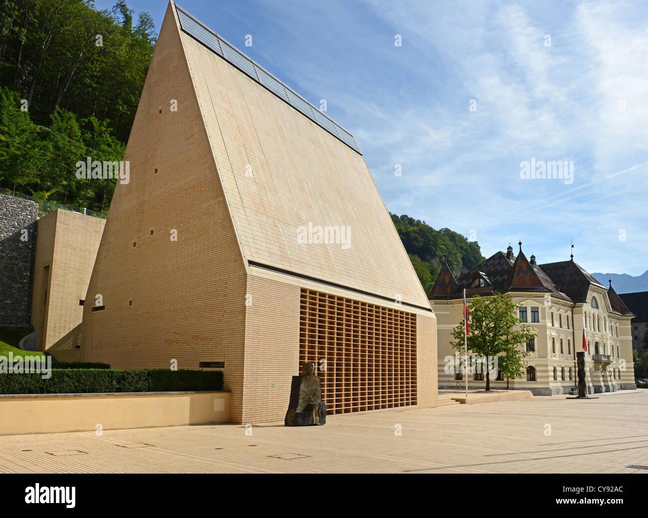 Liechtenstein landtag Stock Photo