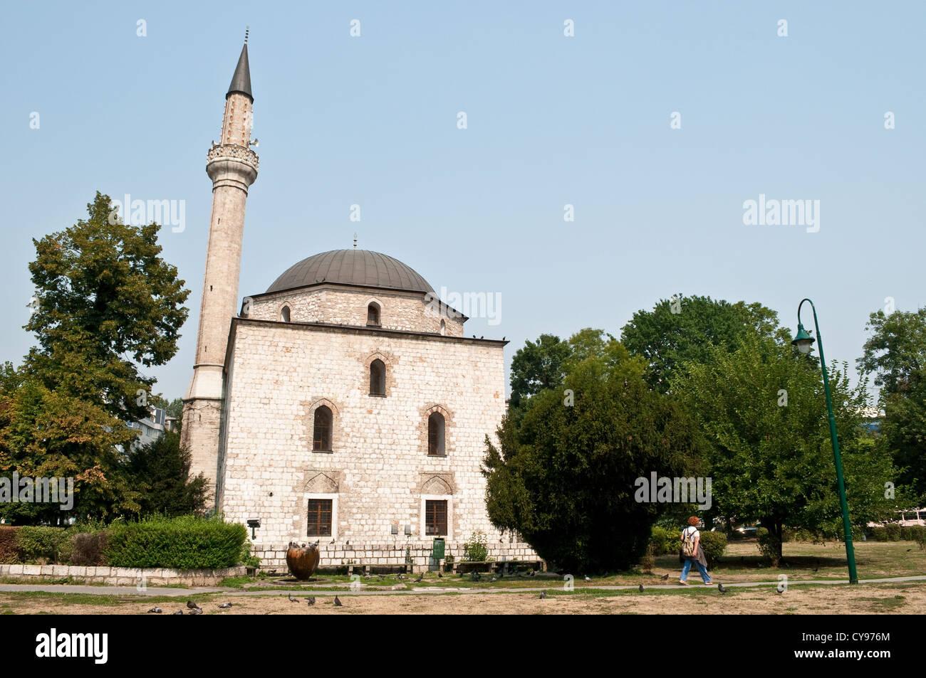Alipasa Mosque, built in 1561, Sarajevo, Bosnia and Herzegovina - Stock Image