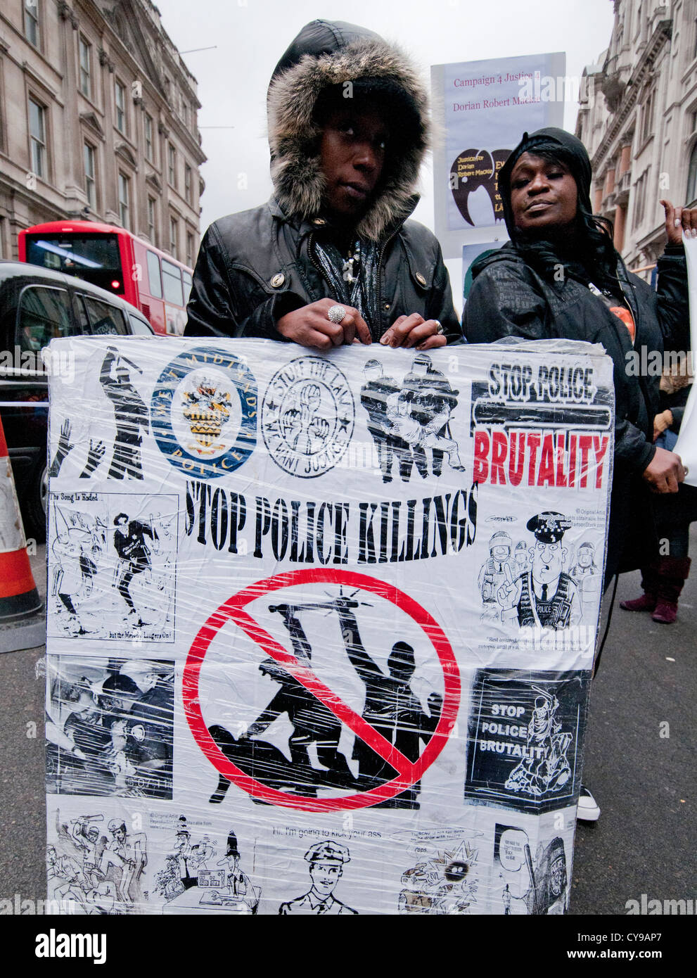 14th Annual  Friends & Family Campaign protest against death in police custody 2012 London - Stock Image