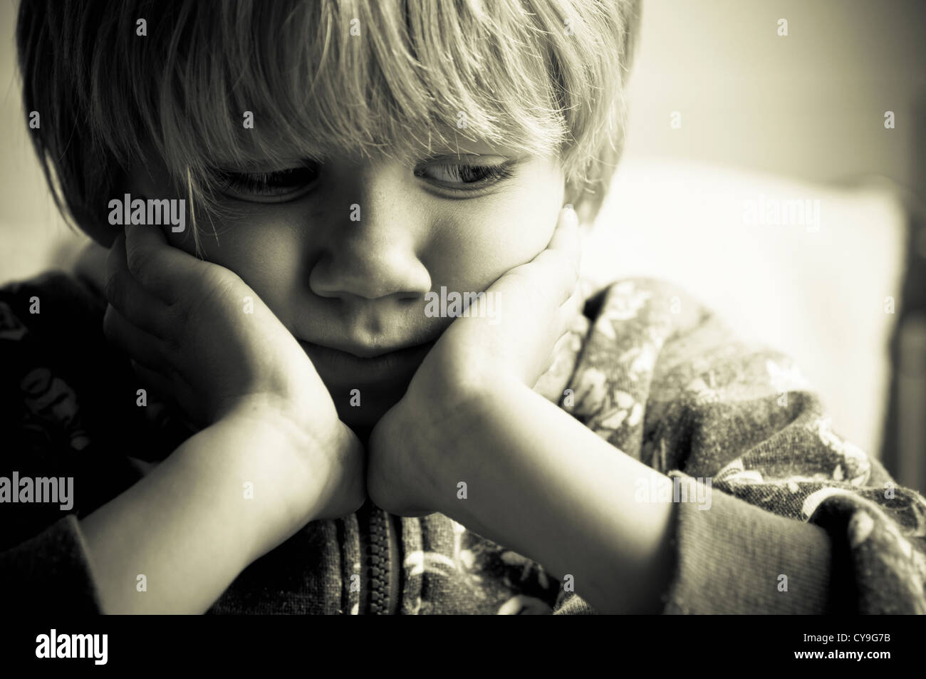 Child abuse - Stock Image