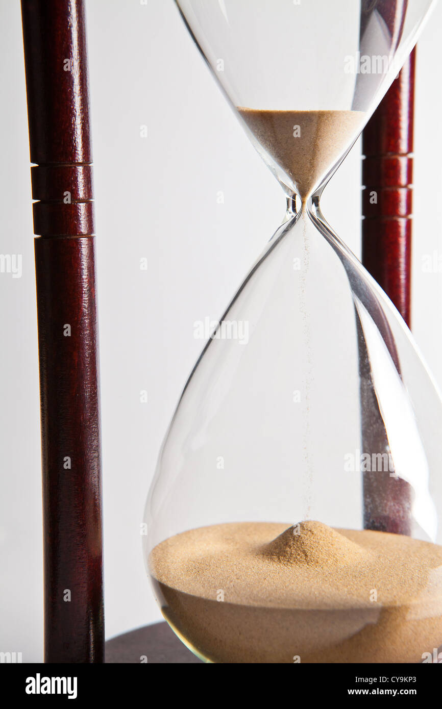 sand timer clock hourglass egg timer sand clock grains running out