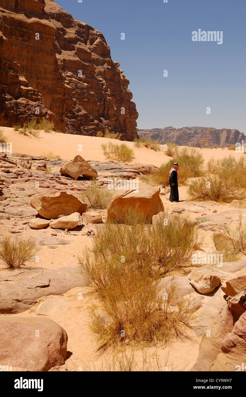 wadi rum - Stock Image