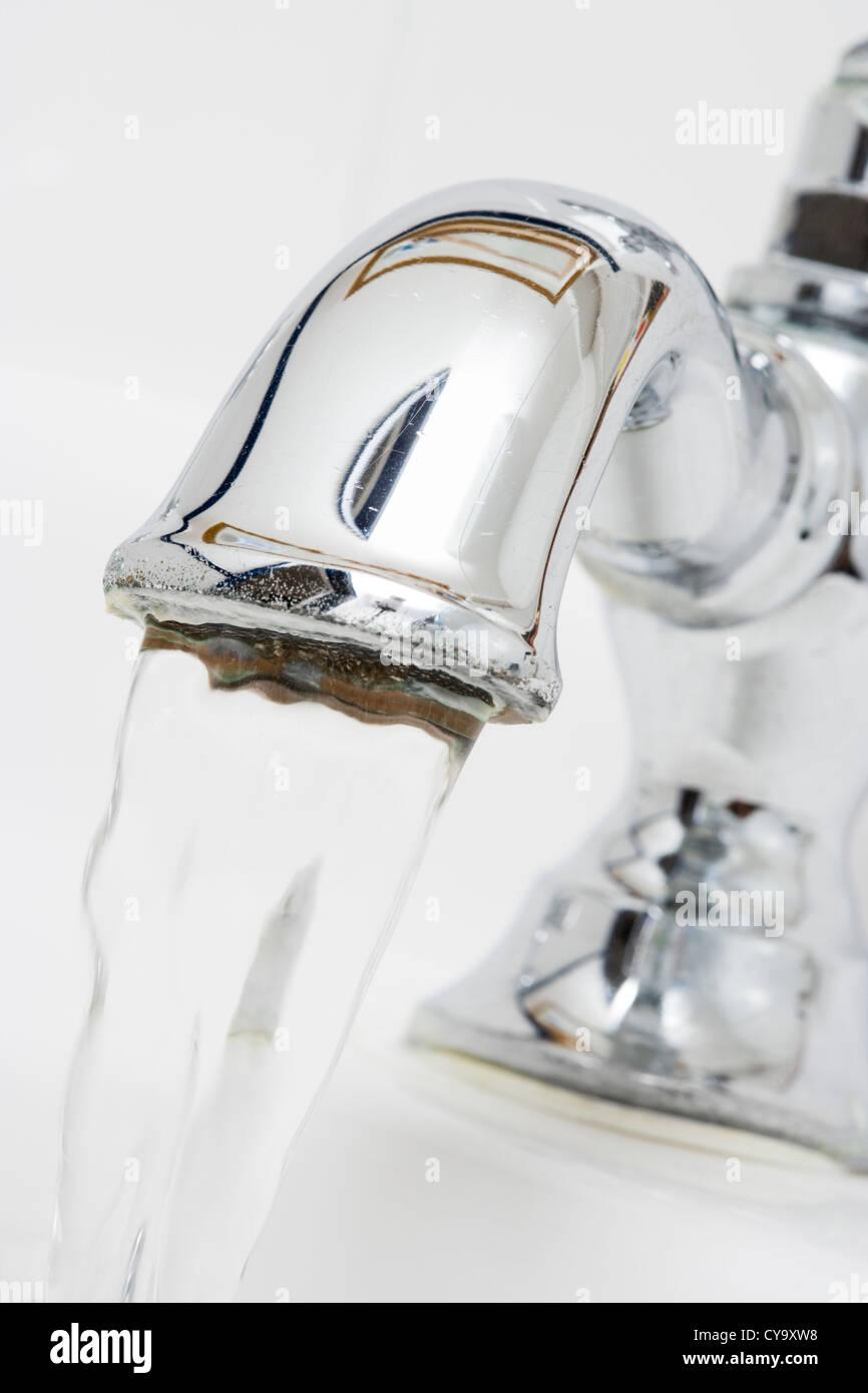 Running tap. - Stock Image