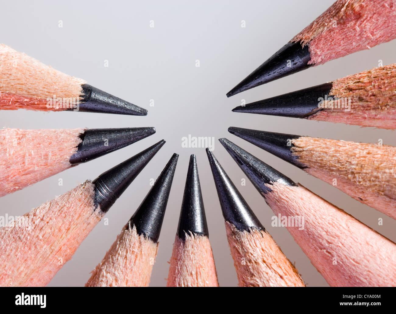 Pencils. - Stock Image