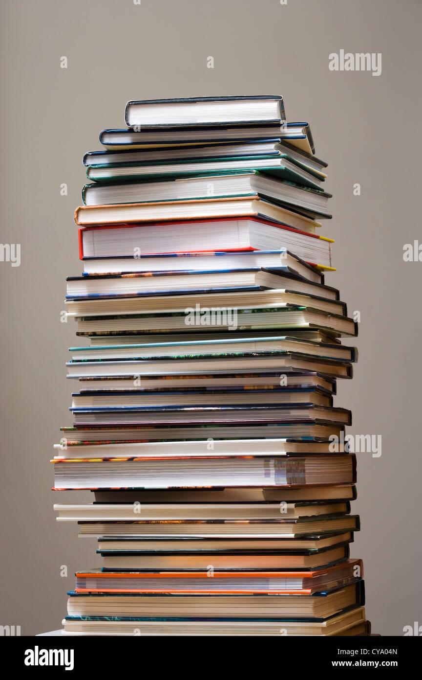 Pile of books. - Stock Image