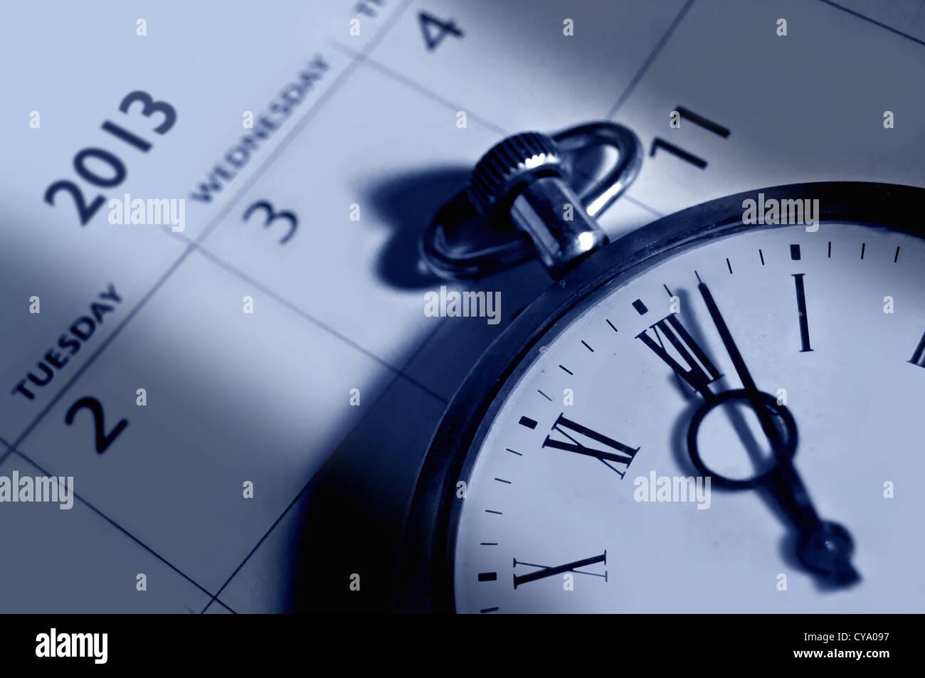 2013 calendar - Stock Image