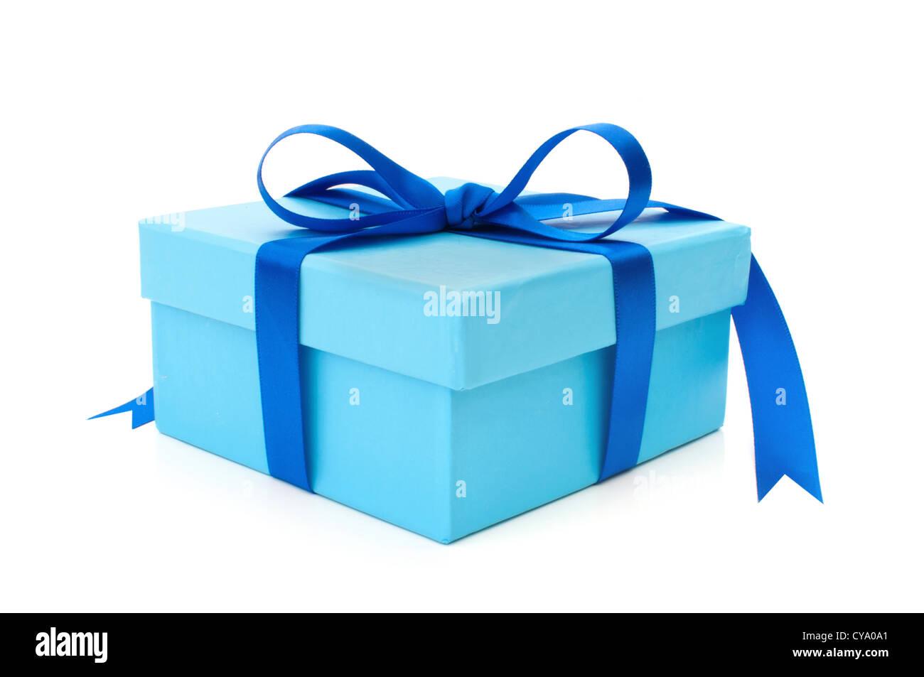 Gift box - Stock Image