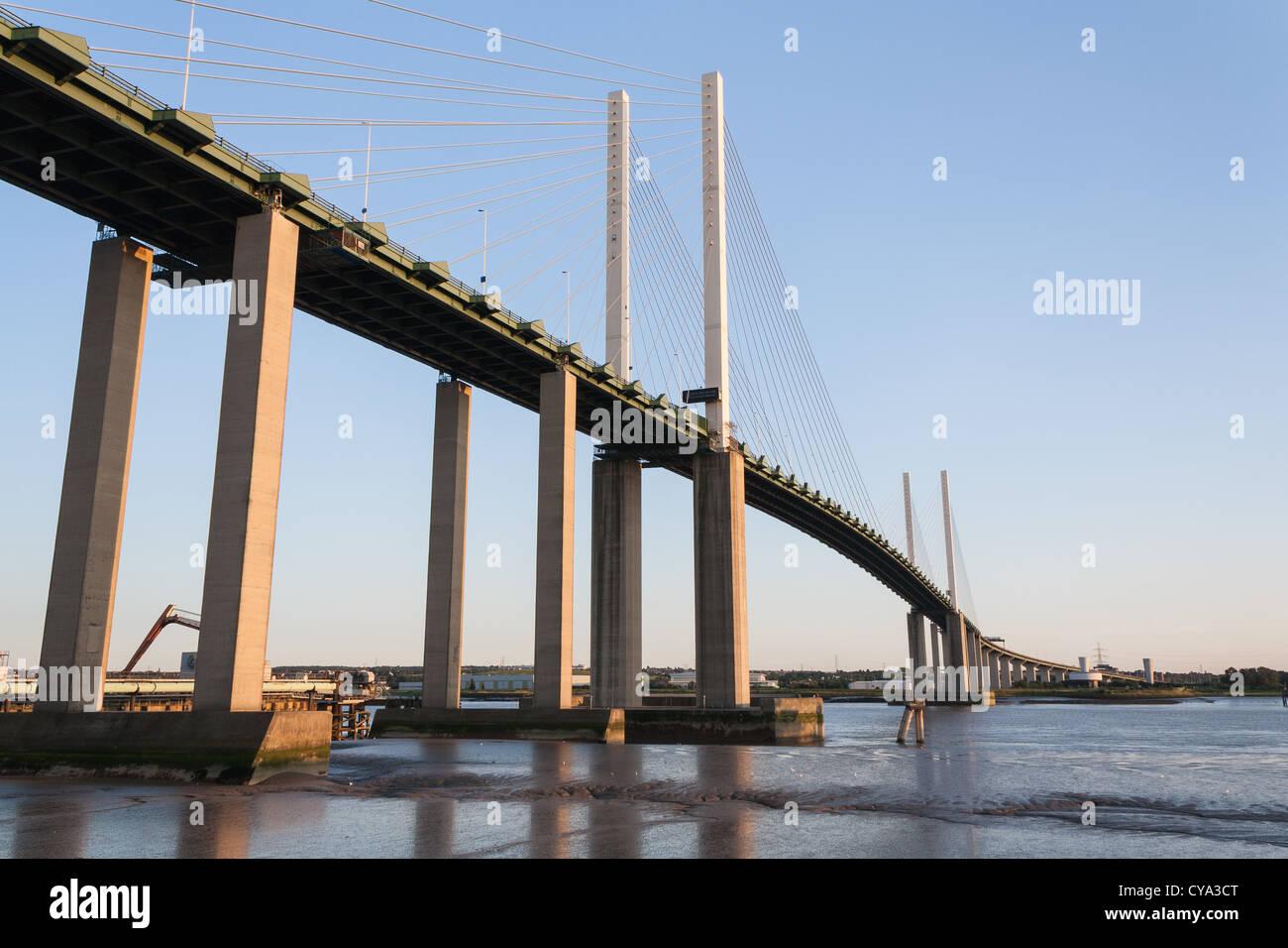 Dartford Bridge Crossing Essex UK - Stock Image
